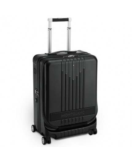 Trolley MY4810 Cabin with pocket - BLACK MONTBLANC